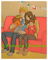 A romione christmas!