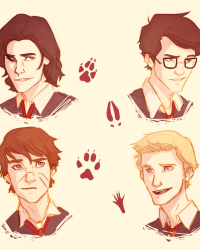 James Potter and the Marauders BOOK 4