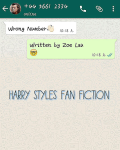 Wrong Number(h.s. Fanfiction)