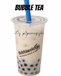 BUBBLE TEA WARNING:DO NOT DRINK