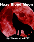 Hazy Blood Moon