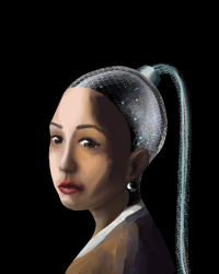 The Machine with the Pearl Earring
