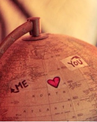long distance love? how about another country love.