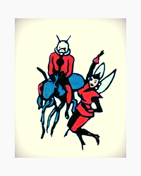 The Ant-Man and Wasp