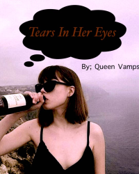 Tears in her eyes