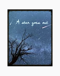 A star goes out
