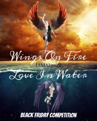 Wings on Fire Love in Water