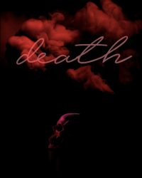 DEATH | Cover Entry for Black Friday: A Writing Competition