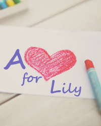 A heart for Lily